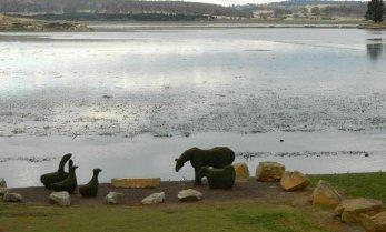 Topiary, Lake Dulverton, Oatlands Tasmania