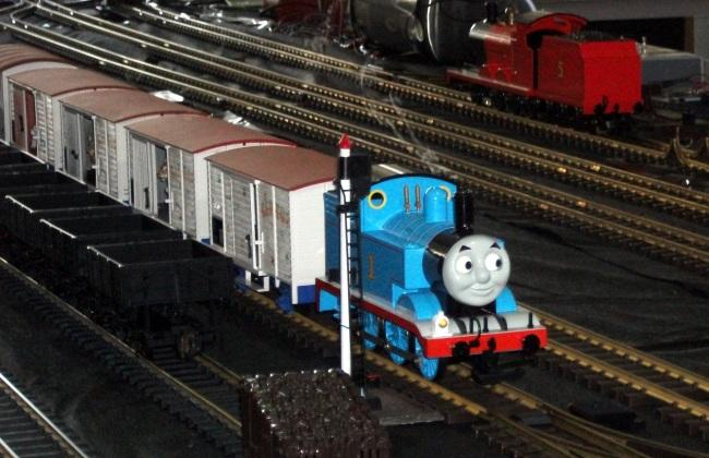 Image Thomas and wagons