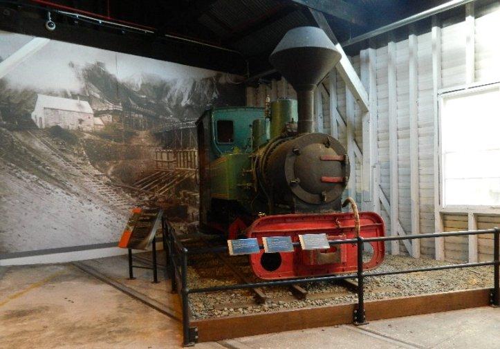 Narrow gauge steam locomotive