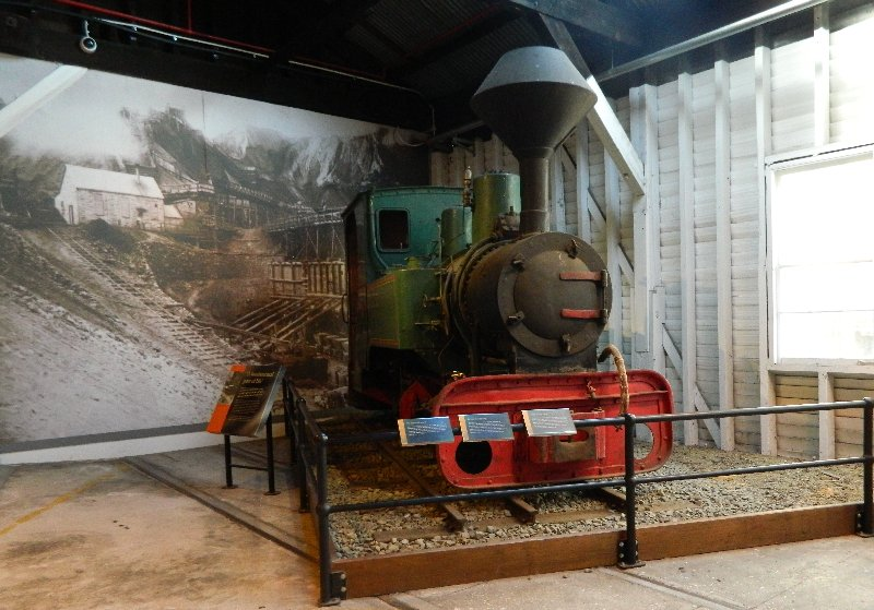 Narrow gauge steam locomotive