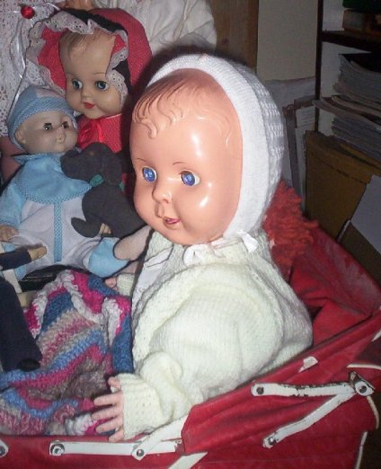 One of my childhood dolls