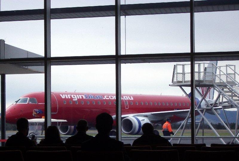 image jet at airport