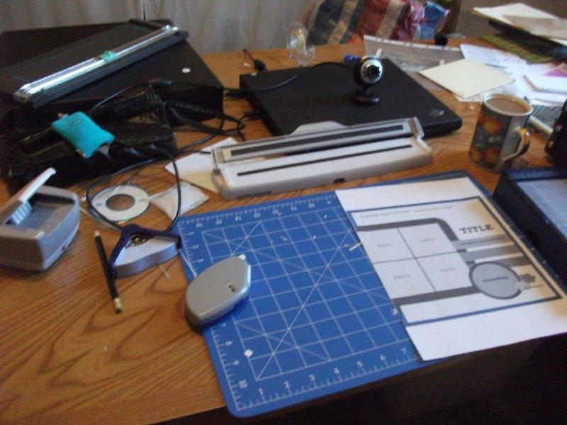 image scrapbooking equipment