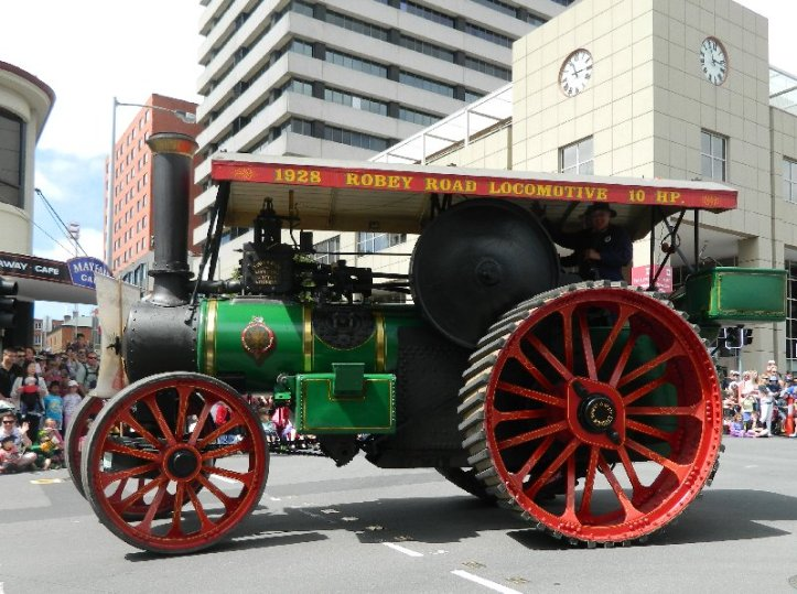 image steam tractor