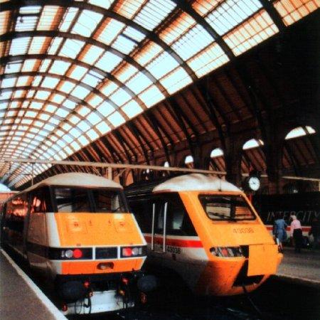 image Kings Cross station UK
