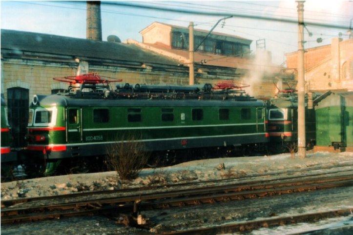 image Russian Electric loco