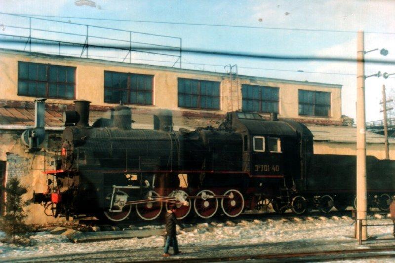 image Russian steam loco
