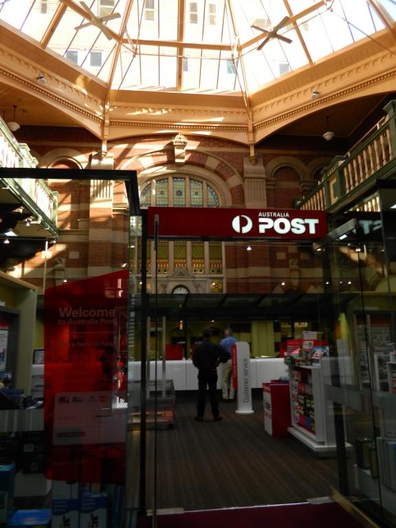 Launceston Post Office interior