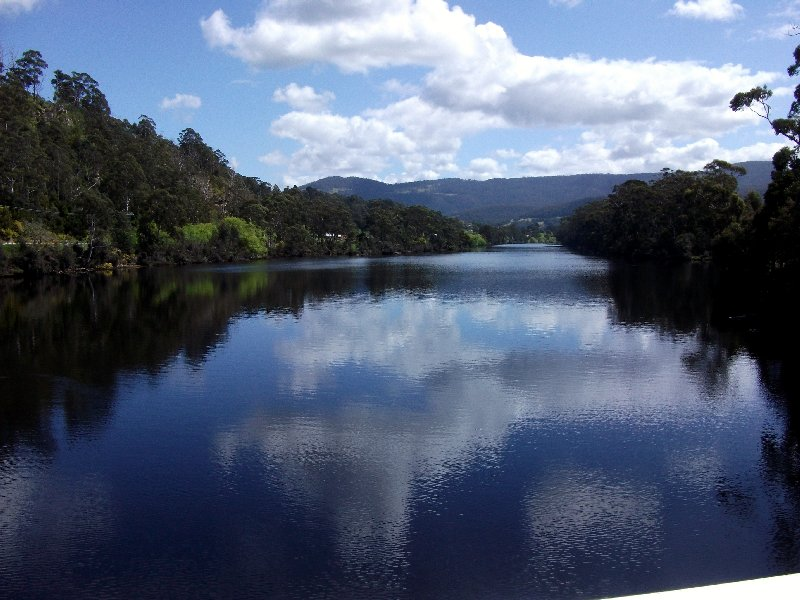 image Huon River at Huonville