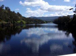 image Huon River at Huonville