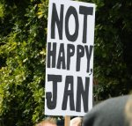 image Not Happy Jan #marchinmarch Hobart