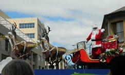 image Santa on float