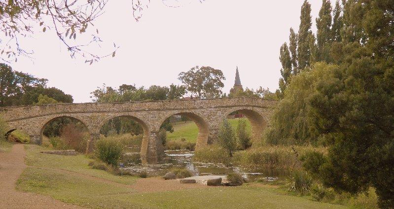 bridge Richmond Tasmania