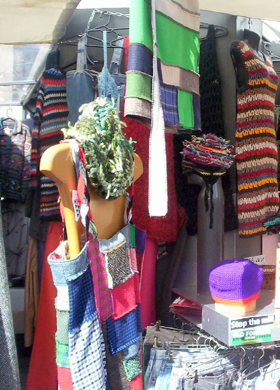 Another colourful stall