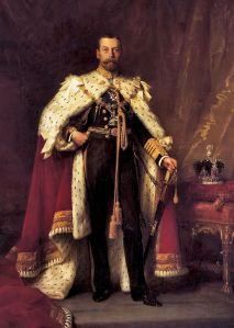 King George V. Wikimedia, Public Domain.
