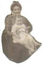 Mum C1922 with one of her grandmothers.