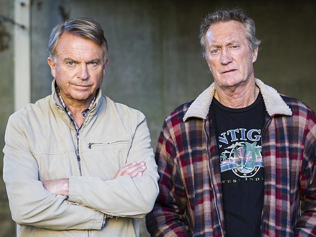 "Sam Neill & Bryan Brown in ""Old School"""
