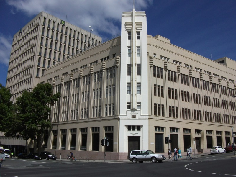 The Hobart City Council Offices.
