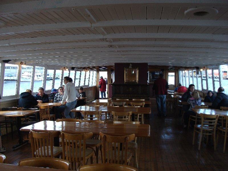 The interior of the MV Cartela September 2011