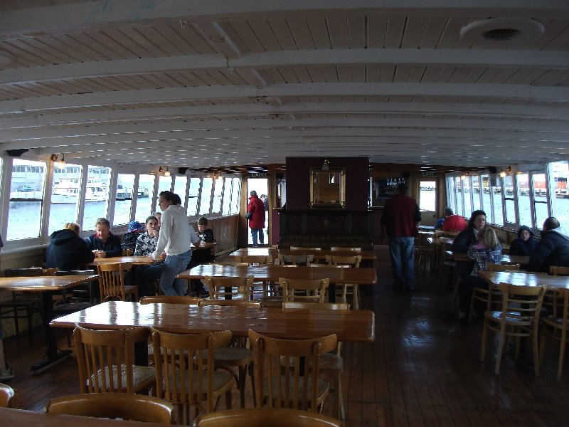 The interior of the MV Cartela September 2011