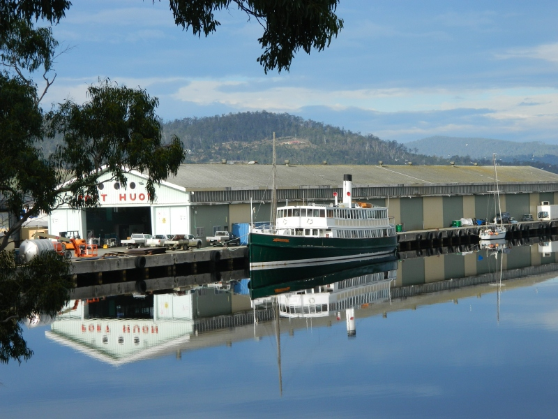 A beautiful winter day at Port Huon