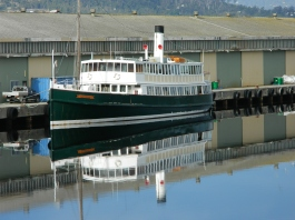 MV Cartela-Port Huon Wharf- July 2014