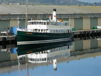 MV Cartela-Port Huon Wharf- July 2014