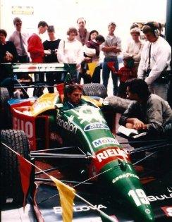 Bennetton F1 car circa 1988-89