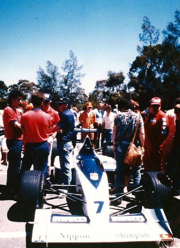 Brabham F1 car circa 1988-89
