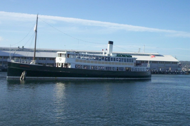 The  MV Cartela- Hobart's Grand Old Lady