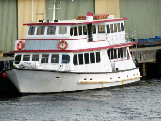 Lady Jane at Port Huon Wharf