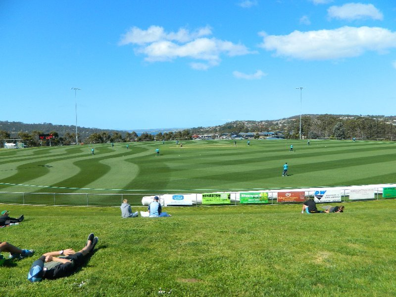 Cricket at Kingston Tasmania