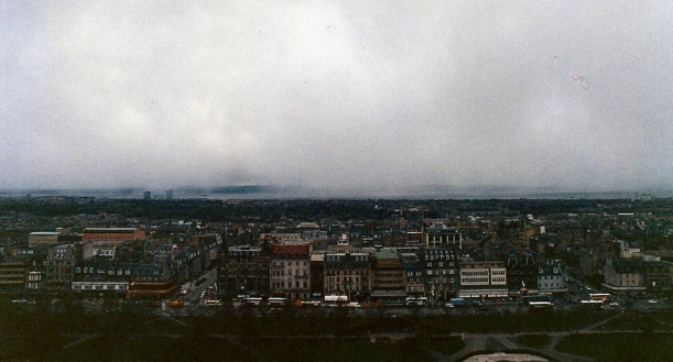 Snowstorm Coming, Edinburgh Castle