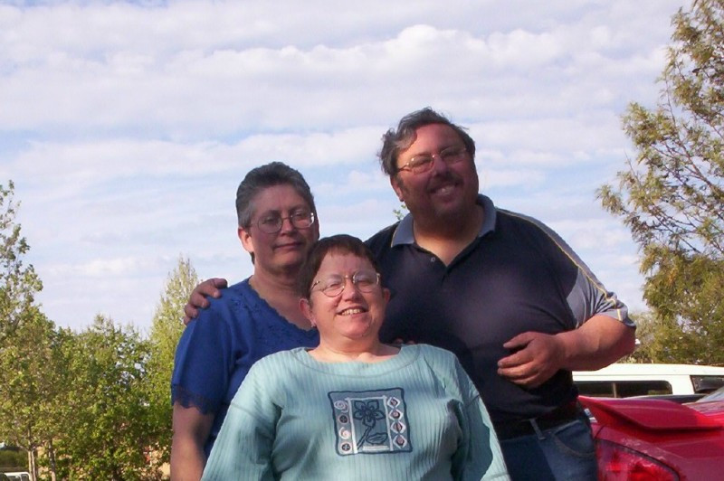 This is Gillian with Hubby and I taken in Adelaide several years ago Photo B. Laughton