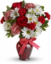 Red and white flowers are considered unlucky