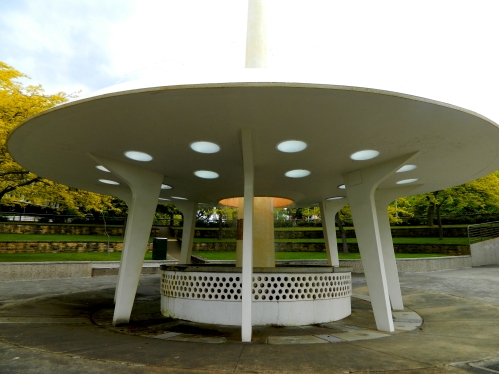 Railway Roundabout Memorial Fountain, Hobart.