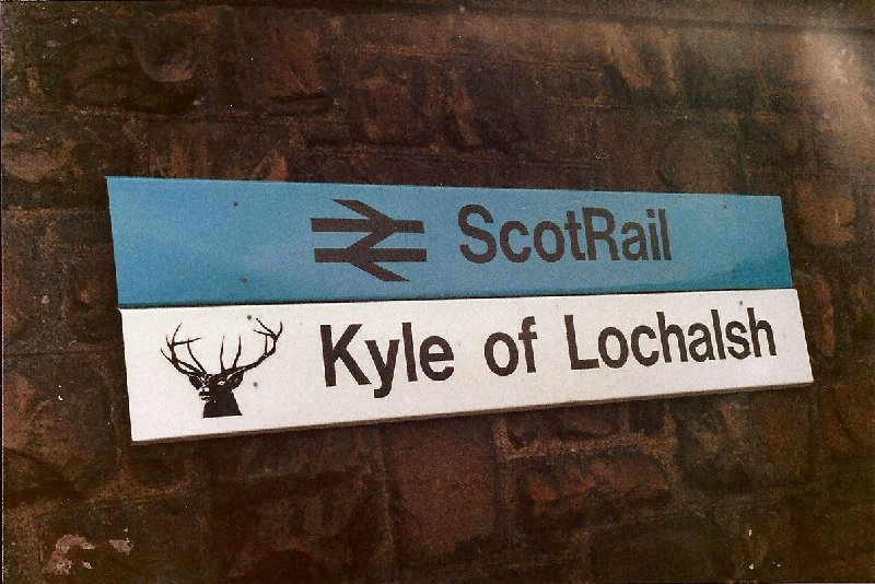 Kyle of Localsh Station