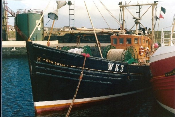 Fishing boat at Wick