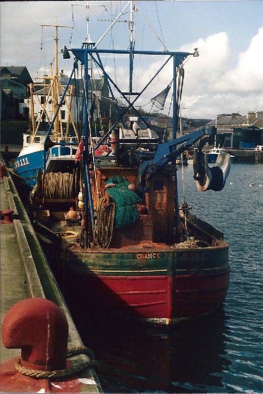 Fishing boat at Wick