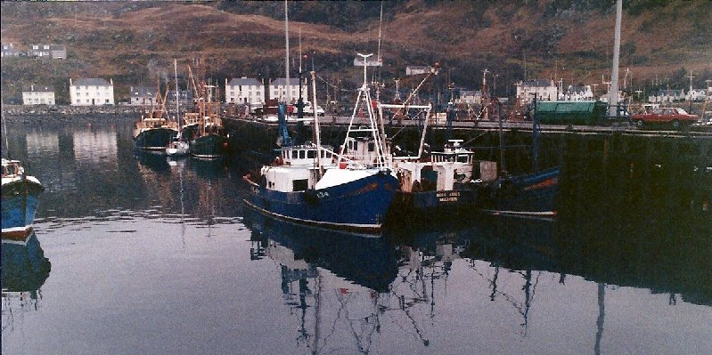 Fishing boats at Mallaig