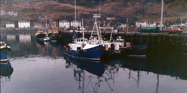 Fishing boats at Mallaig