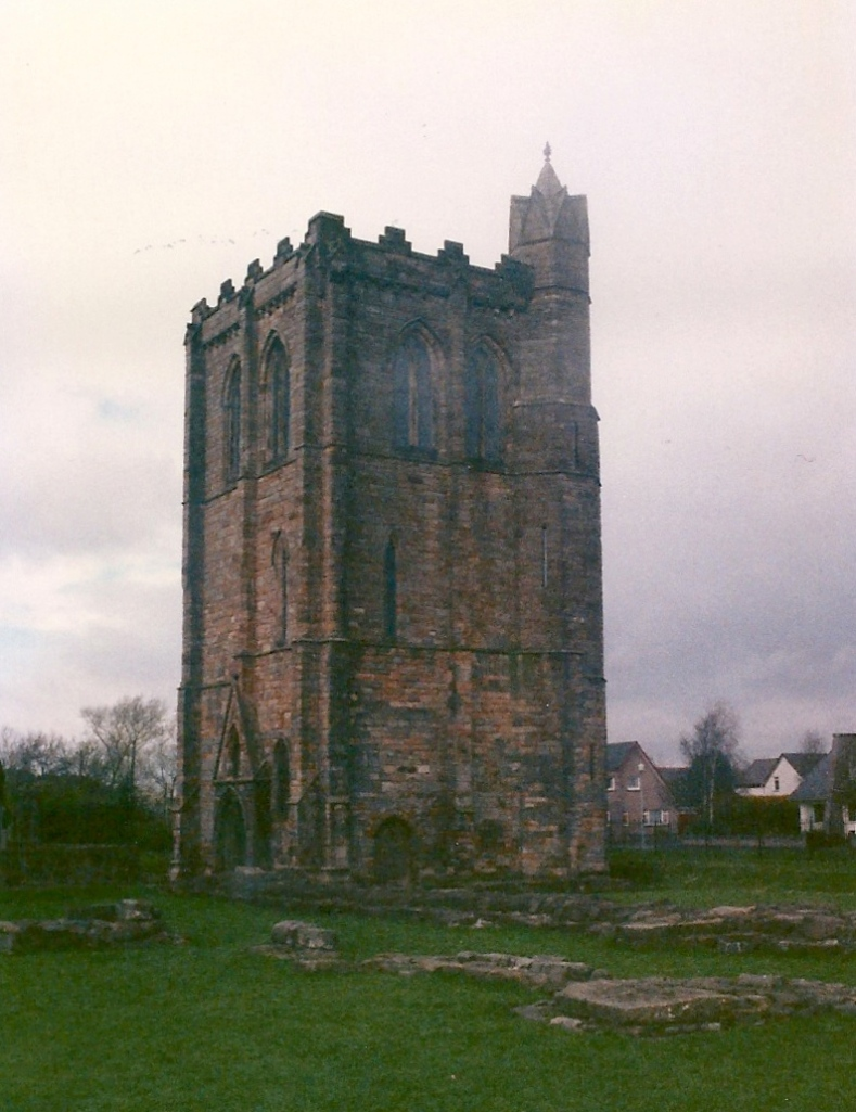 The bell tower of Cambuskenneth Abbey