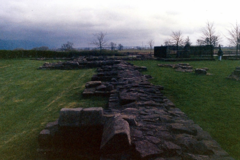 Ruins of Cambuskenneth Abbey.