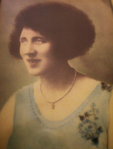 A painting of my grandmother done in the 1930's.