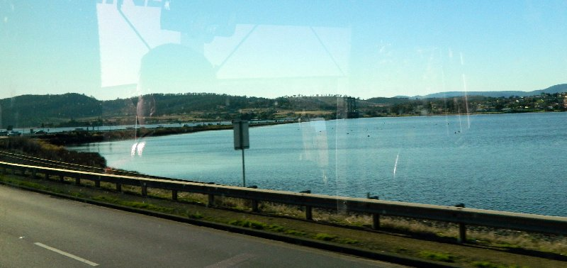 approaching the Bridgewater bridge