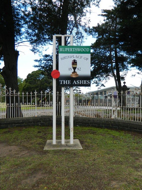 "Sunbury ""Birthplace of the Ashes"""
