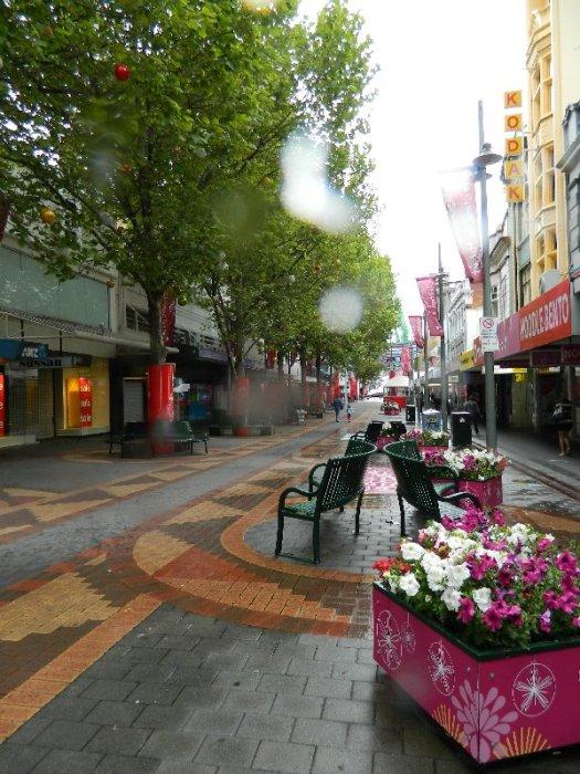 Elizabeth St Mall, Hobart