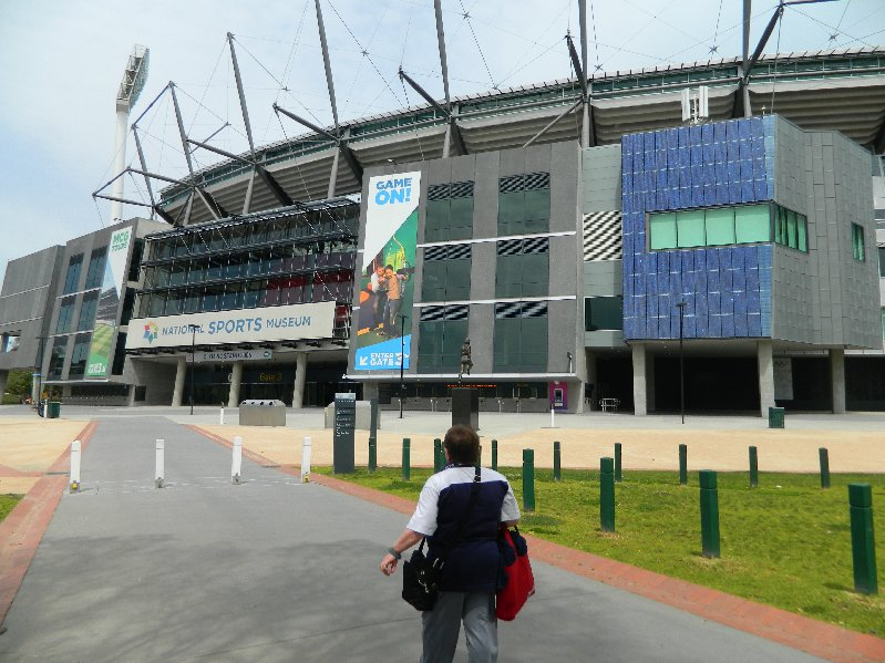 The MCG and National Sports Museum, Melbourne.