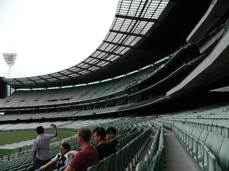 Some of the seating areas.