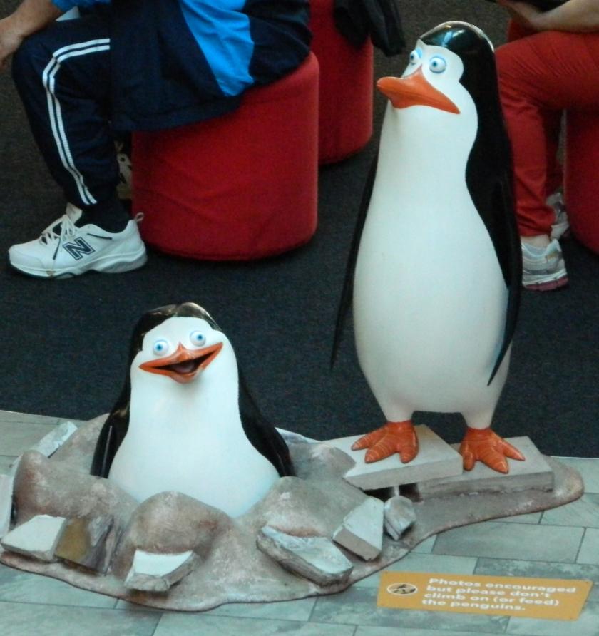 Penguins -Federation Square Melbourne